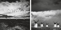 Quixote's Giants Study 2; and 6, Campo de Cruptana La Manche, Spain, 1996