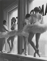 Ballerinas at rest, the Balanchine School of the American Ballet Theatre, New York, 1936