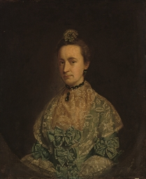 Portrait of a lady, traditiona
