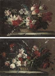 Tulips, roses, chrysanthemums,