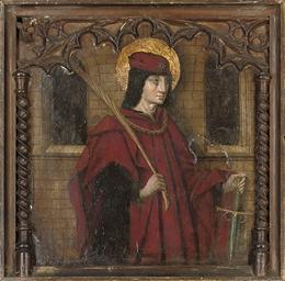 A Saint, possibly Saint Pancra