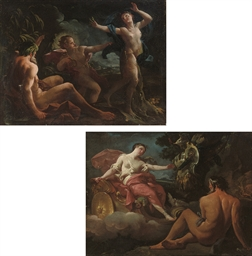 Apollo and Daphne; and Venus r