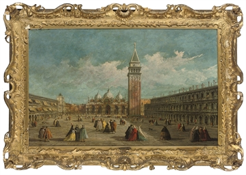 Piazza San Marco, Venice, look