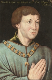 Portrait of Charles the Bold,
