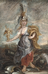 Marie de'Medici as Bellona