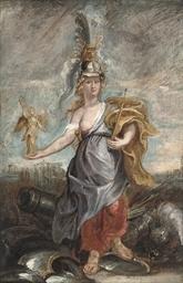 Marie de'Medici as Bellona