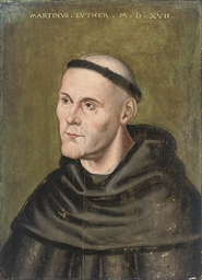 Portrait of Martin Luther, bus