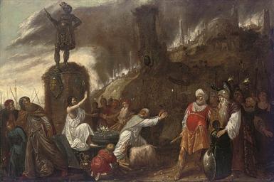 The rival sacrifices of Eilija