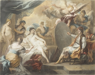 Zeuxis painting Helena, after