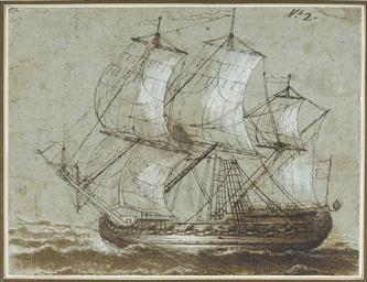 A ship in full sail