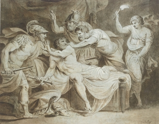 The Death of Alcibiades
