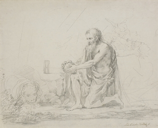 Saint Jerome with the lion