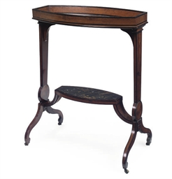 A DIRECTOIRE EBONISED AND MAHO