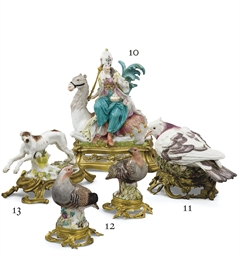 COLOMBE EN PORCELAINE DE MEISS