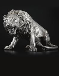 LION EN ARGENT