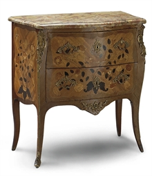 COMMODE D'EPOQUE LOUIS XV