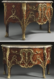 IMPORTANTE COMMODE D'EPOQUE LO