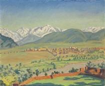 A View of Marrakech