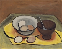 Two Bowls with Eggs
