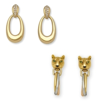A GROUP OF EAR PENDANTS, BY CARTIER