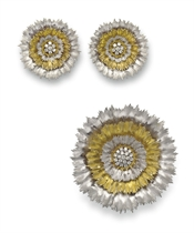 A SET OF DIAMOND AND GOLD JEWELRY, BY BUCCELLATI