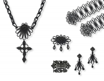 A GROUP OF ANTIQUE BERLIN IRONWORKS JEWELRY