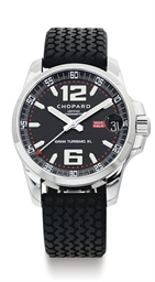 CHOPARD.  A STAINLESS STEEL AU