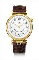 KELEK.  AN 18K GOLD FIVE MINUTE REPEATING AUTOMATIC WRISTWATCH