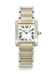 CARTIER. AN 18K GOLD AND STAIN