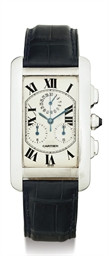 CARTIER.  AN OVERSIZED 18K GOL
