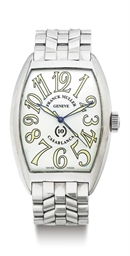 FRANCK MULLER. A LARGE STAINLE
