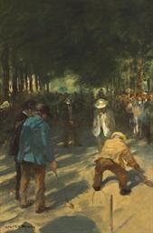Jeux du Croquet, Jardins du Lu