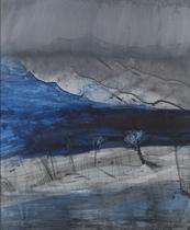 Rain landscape