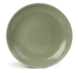 A Chinese early Ming celadon d