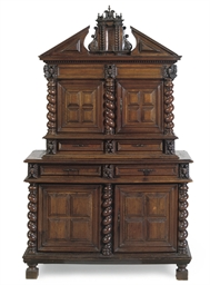 A FRENCH PROVINCIAL WALNUT 'ME