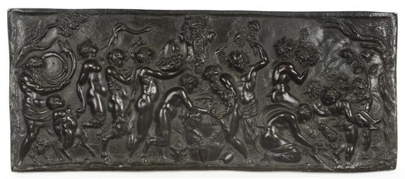 Relief of a Bacchanalian scene