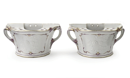 A pair of Loosdrecht demi lune