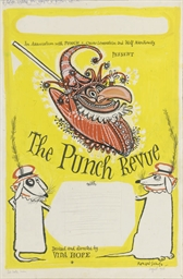 Poster for The Punch Revue Art