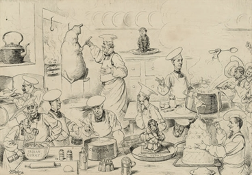The Parliamentary kitchen