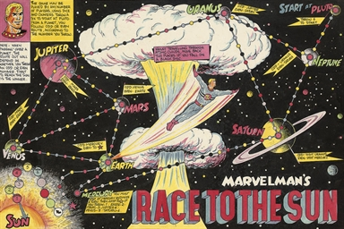 Marvelman's Race to the Sun