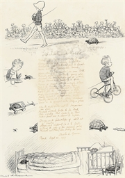 Michael and Moses the tortoise