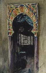 Porte de mosquée andalouse