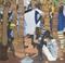 Laptots dans un port en Guinée