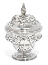 A GEORGE II SILVER MIXING BOWL