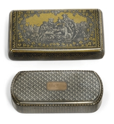 A GOOD FRENCH PARCEL-GILT SILV