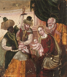 The Adoration of the Magi; and