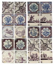 A COLLECTION OF TWENTY DELFT T