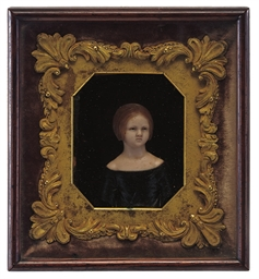 A REGENCY WAX PORTRAIT RELIEF