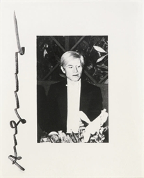 Portrait of Andy Warhol, and a