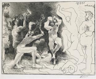 The Faun's Dance (Bloch 830; M